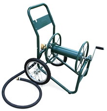 Liberty Garden Products 200' Industrial Grade Two Wheel Hose Reel Cart