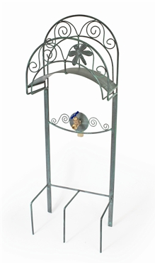 "Liberty Garden Products ""Dragonfly"" Decorative Lawn Hose Stand"