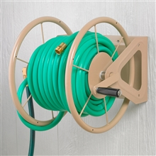 Liberty Garden Products 200' Wall Mount 3-in-1 Hose Reel