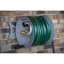 Roughneck 150 ft Wall Mount Garden Hose Reel