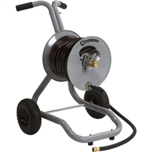 Strongway Garden Hose Reel with Cart — Holds 150ft. x 5/8in. Hose